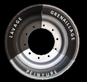 Logo pour sous menu peinture roue